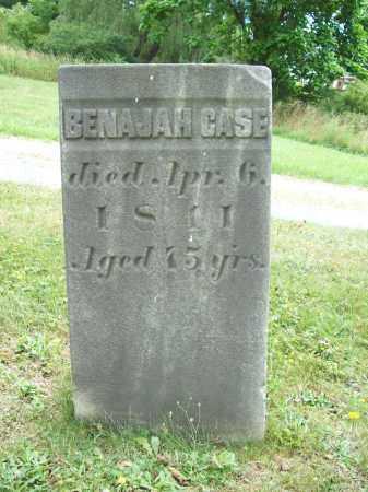 CASE, BENAJAH - Trumbull County, Ohio   BENAJAH CASE - Ohio Gravestone Photos
