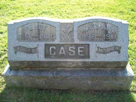 CASE, HENRY - Trumbull County, Ohio | HENRY CASE - Ohio Gravestone Photos
