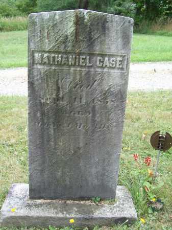 CASE, NATHANIEL - Trumbull County, Ohio   NATHANIEL CASE - Ohio Gravestone Photos