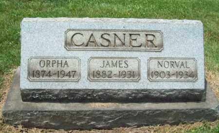 CASNER, JAMES - Trumbull County, Ohio | JAMES CASNER - Ohio Gravestone Photos