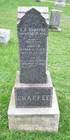 CHAFFEE, TILLIE - Trumbull County, Ohio | TILLIE CHAFFEE - Ohio Gravestone Photos