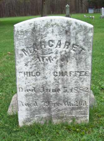 CHAFFEE, MARGARET - Trumbull County, Ohio   MARGARET CHAFFEE - Ohio Gravestone Photos