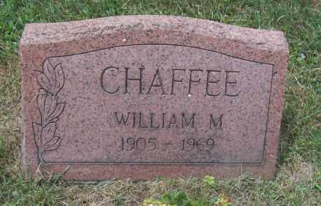 CHAFFEE, WILLIAM M. - Trumbull County, Ohio | WILLIAM M. CHAFFEE - Ohio Gravestone Photos