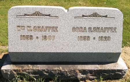CHAFFEE, CORA C. - Trumbull County, Ohio   CORA C. CHAFFEE - Ohio Gravestone Photos