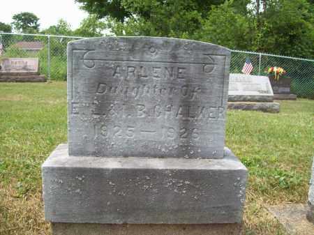 CHALKER, ARLENE BELLE - Trumbull County, Ohio | ARLENE BELLE CHALKER - Ohio Gravestone Photos