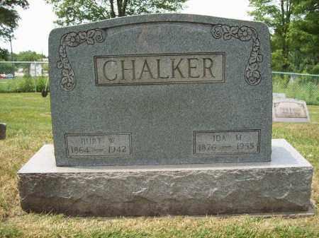 CHALKER, IDA M. - Trumbull County, Ohio | IDA M. CHALKER - Ohio Gravestone Photos