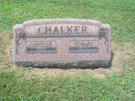 MORRIS CHALKER, CAROLINE - Trumbull County, Ohio | CAROLINE MORRIS CHALKER - Ohio Gravestone Photos