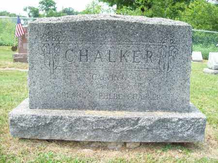 CHALKER, CALVIN N. - Trumbull County, Ohio   CALVIN N. CHALKER - Ohio Gravestone Photos