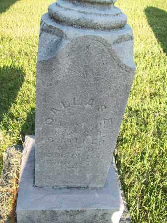 CHALKER, DALLAS ERNIE - Trumbull County, Ohio | DALLAS ERNIE CHALKER - Ohio Gravestone Photos