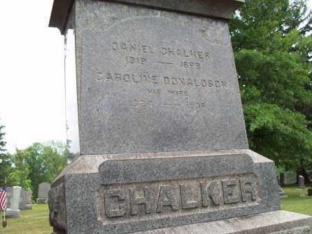 CHALKER, DANIEL - Trumbull County, Ohio | DANIEL CHALKER - Ohio Gravestone Photos