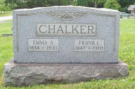CHALKER, EMMA - Trumbull County, Ohio | EMMA CHALKER - Ohio Gravestone Photos