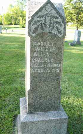 VIETS CHALKER, HARRIET - Trumbull County, Ohio | HARRIET VIETS CHALKER - Ohio Gravestone Photos