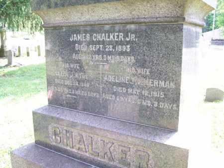 CHALKER, ELIZA J. - Trumbull County, Ohio | ELIZA J. CHALKER - Ohio Gravestone Photos