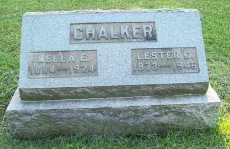 CHALKER, LESTER CALVIN - Trumbull County, Ohio | LESTER CALVIN CHALKER - Ohio Gravestone Photos