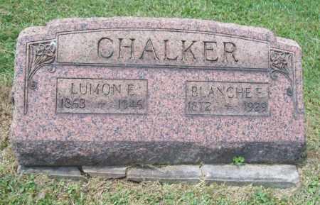 CHALKER, BLANCHE E. - Trumbull County, Ohio | BLANCHE E. CHALKER - Ohio Gravestone Photos