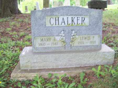 CHALKER, LEWIS FRAZIER - Trumbull County, Ohio | LEWIS FRAZIER CHALKER - Ohio Gravestone Photos