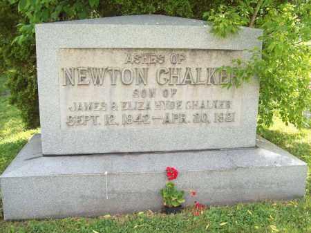 CHALKER, NEWTON - Trumbull County, Ohio | NEWTON CHALKER - Ohio Gravestone Photos