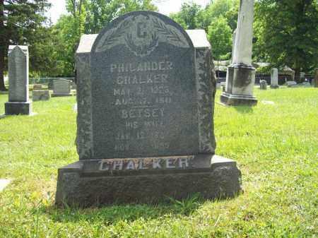CHALKER, BETSEY - Trumbull County, Ohio | BETSEY CHALKER - Ohio Gravestone Photos