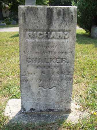 CHALKER, RICHARD - Trumbull County, Ohio   RICHARD CHALKER - Ohio Gravestone Photos