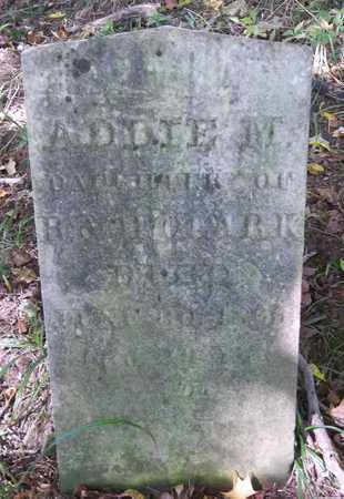 CLARK, ADDIE M. - Trumbull County, Ohio | ADDIE M. CLARK - Ohio Gravestone Photos