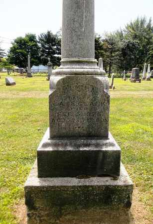 CLARK, ALMIRA - Trumbull County, Ohio   ALMIRA CLARK - Ohio Gravestone Photos
