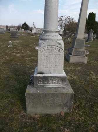 SANDERSON CLARK, DEET - Trumbull County, Ohio   DEET SANDERSON CLARK - Ohio Gravestone Photos
