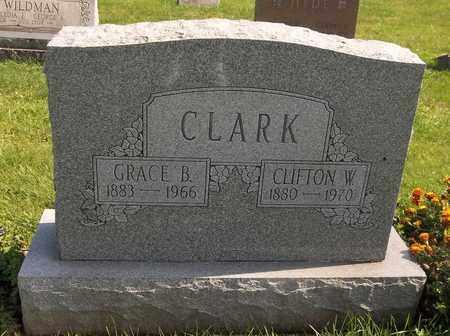 CLARK, CLIFTON W. - Trumbull County, Ohio | CLIFTON W. CLARK - Ohio Gravestone Photos