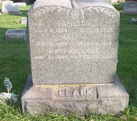 CLARK, MARY ADELAIDE - Trumbull County, Ohio | MARY ADELAIDE CLARK - Ohio Gravestone Photos