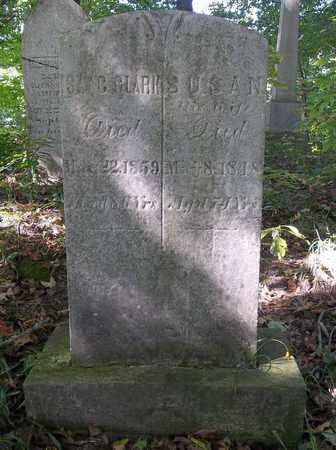 CLARK, ISAAC - Trumbull County, Ohio   ISAAC CLARK - Ohio Gravestone Photos