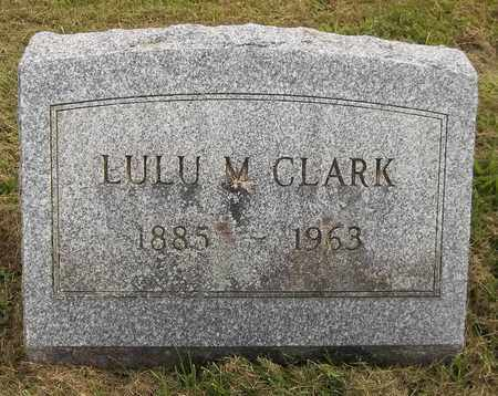 CLARK, LULU M. - Trumbull County, Ohio | LULU M. CLARK - Ohio Gravestone Photos