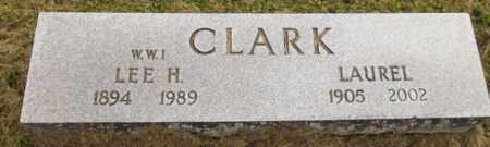 CLARK, LEE H. - Trumbull County, Ohio | LEE H. CLARK - Ohio Gravestone Photos