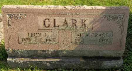 CLARK, LEON L. - Trumbull County, Ohio   LEON L. CLARK - Ohio Gravestone Photos