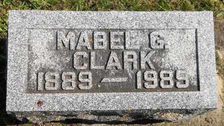 CLARK, MABEL G. - Trumbull County, Ohio   MABEL G. CLARK - Ohio Gravestone Photos