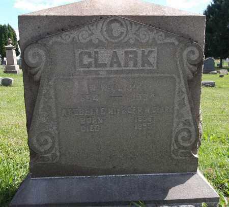 CLARK, W. W. - Trumbull County, Ohio   W. W. CLARK - Ohio Gravestone Photos