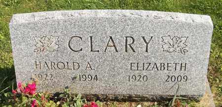 CLARY, HAROLD A. - Trumbull County, Ohio   HAROLD A. CLARY - Ohio Gravestone Photos