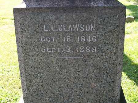 CLAWSON, L. L. - Trumbull County, Ohio | L. L. CLAWSON - Ohio Gravestone Photos