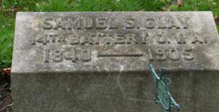 CLAY, SAMUEL S. - Trumbull County, Ohio   SAMUEL S. CLAY - Ohio Gravestone Photos