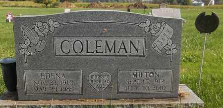 COLEMAN, EDENA - Trumbull County, Ohio   EDENA COLEMAN - Ohio Gravestone Photos