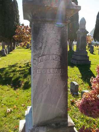 COLLAR, AMIEL - Trumbull County, Ohio | AMIEL COLLAR - Ohio Gravestone Photos