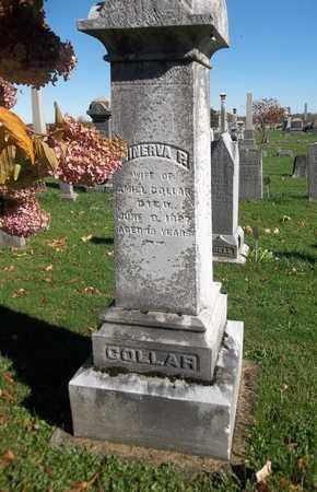 COLLAR, MINERVA P. - Trumbull County, Ohio | MINERVA P. COLLAR - Ohio Gravestone Photos