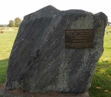 COLLENS, AMANDA LOUISA - Trumbull County, Ohio   AMANDA LOUISA COLLENS - Ohio Gravestone Photos