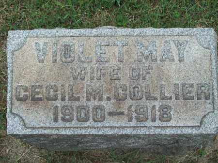 COLLIER, VIOLET MAY - Trumbull County, Ohio | VIOLET MAY COLLIER - Ohio Gravestone Photos