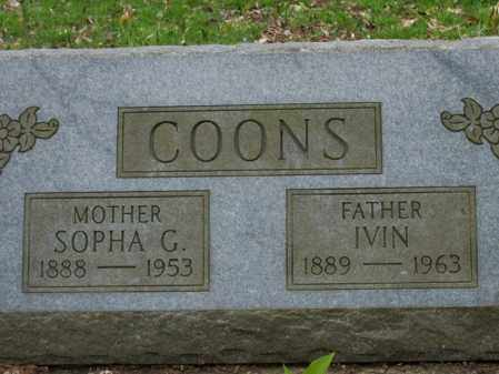 COONS, SOPHA C. - Trumbull County, Ohio | SOPHA C. COONS - Ohio Gravestone Photos