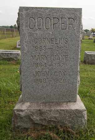 COOPER, MARY JANE - Trumbull County, Ohio | MARY JANE COOPER - Ohio Gravestone Photos