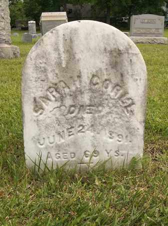 CORLL, SARAH - Trumbull County, Ohio   SARAH CORLL - Ohio Gravestone Photos