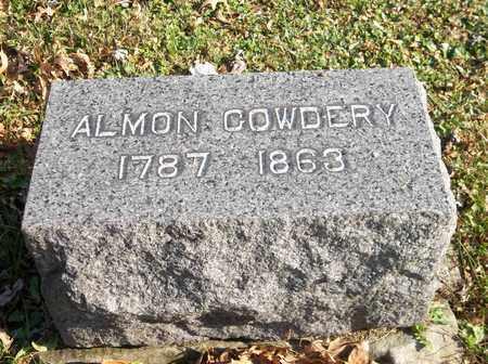 COWDERY, ALMON - Trumbull County, Ohio   ALMON COWDERY - Ohio Gravestone Photos