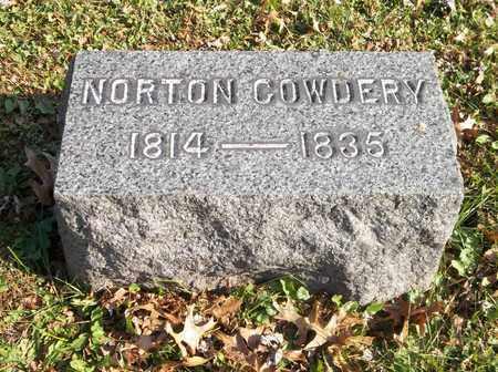 COWDERY, NORTON - Trumbull County, Ohio | NORTON COWDERY - Ohio Gravestone Photos
