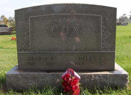 COX, GEORGE W. - Trumbull County, Ohio | GEORGE W. COX - Ohio Gravestone Photos