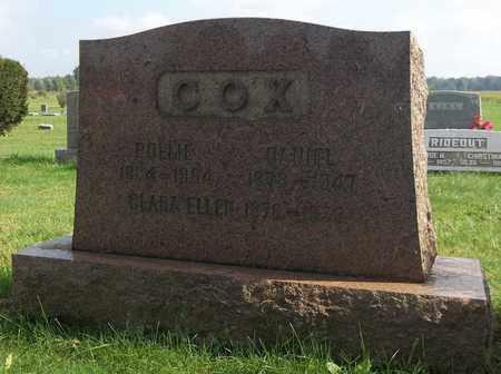 COX, CLARA ELLEN - Trumbull County, Ohio | CLARA ELLEN COX - Ohio Gravestone Photos