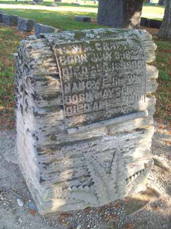 CRAFT, NANCY E. - Trumbull County, Ohio | NANCY E. CRAFT - Ohio Gravestone Photos